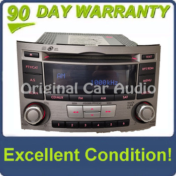 2012 - 2014 Subaru Legacy Outback OEM AM FM Single CD Radio Player