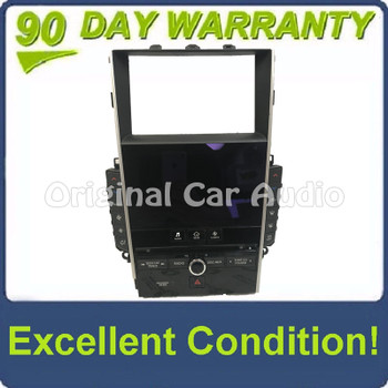 2014 - 2020 OEM  Infiniti Q50 Navigation Radio Control Panel Touch Screen Climate Control BEZEL ONLY
