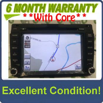 2010 - 2014 Kia Sportage OEM Navigation AM FM XM Radio CD Player Receiver