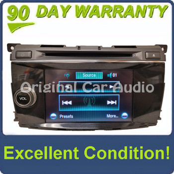 2013 - 2015 Honda Crosstour OEM AM FM XM Navigation Single CD Touchscreen Radio