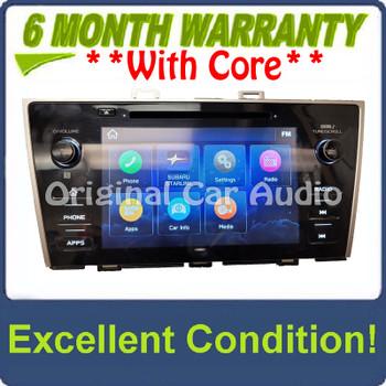 2019 Subaru Legacy Outback OEM Starlink Multimedia APPS CD XM Radio Receiver w/ CARPLAY