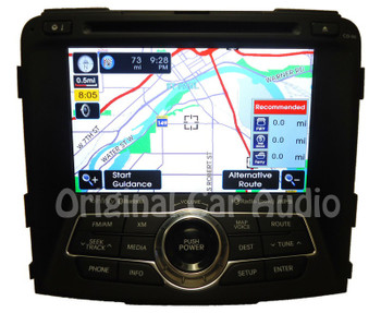 2011 - 2015 Hyundai Infinity XM SAT radio navigation Bluetooth CD player OEM