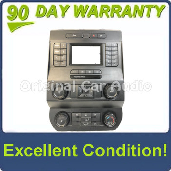 """2019 - 2020 Ford F150 OEM 8"""" Touch Screen Radio Climate Control Bezel ONLY"""