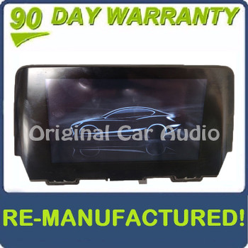 Remanufactured 2016 - 2017 Mazda 6 OEM Information Display Screen ONLY