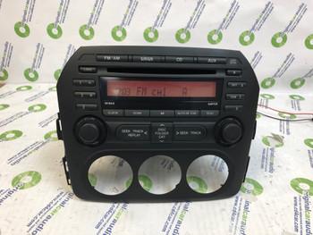 2009-2015 MAZDA MIATA MX-5 Audio AM FM Radio CD Player Receiver ID NH1866AR0