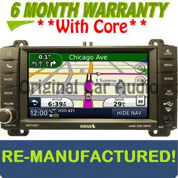 Refurbished 2011 - 2013 Jeep Dodge Navigation MyGig Radio CD Player MP3 USB AUX