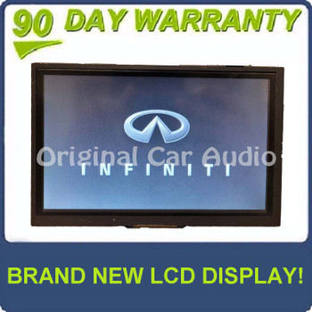 Reman 2014 - 2016 Infiniti Q50 OEM Information Display with New Touchscreen