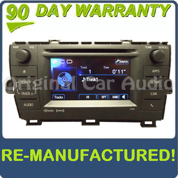 REMANUFACTURED Toyota Prius 57032 Entune Radio CD Player OEM