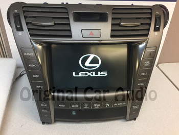 Refurbished 07-10 Lexus LS460 LS600HL Multi-Display Navigation GPS Touch Screen w/Climate control HDD