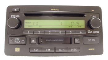 2003 2004 2005 2006 Toyota OEM Sequoia Tundra Radio Receiver Tape CD Player 16836