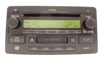 2003 2004 2005 2006 2007 Toyota Sequoia Tundra Radio Tape CD Player OEM 16854