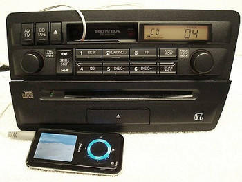 Honda Civic Radio and CD Player 39100-S5P-A110-M1 2001-2005