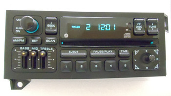 1997-2002 Dodge Durango Dakota OEM AM FM Radio CD Player Receiver RBR