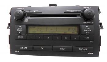 Toyota Corolla Radio MP3 6 CD Player 86120-02770 A51846 2009 2010 2011