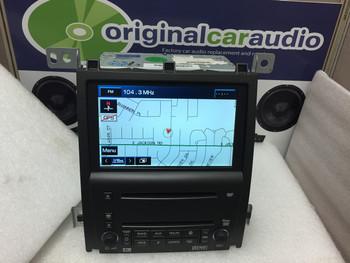 Cadillac STS DVD Navigation 6 Disc CD Player AM FM XM