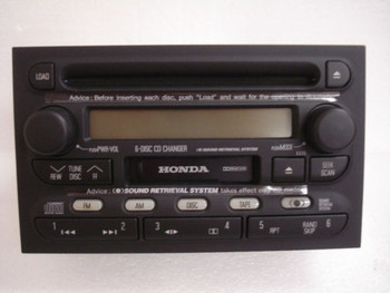 01 02 Honda Passport 6 CD Changer Radio Isuzu Rodeo OEM