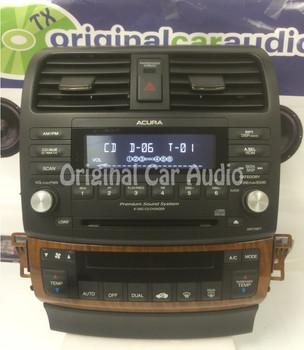 2006 - 2008 Acura TSX Radio AUX & 6 CD Changer 7HR0
