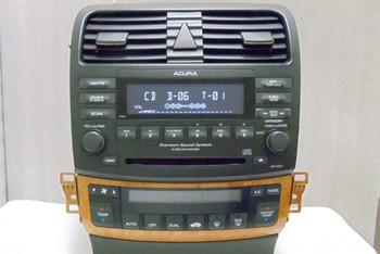 2005 2006 Acura TSX Radio XM & 6 CD Changer 7HB0