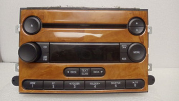 Ford Fusion Mercury Milan Radio CD MP3 Player AUX RDS 2006-2007