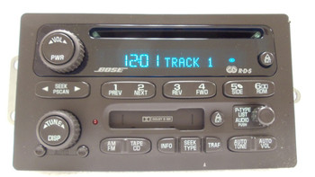 GMC BOSE RDS Radio Tape Cassette Deck CD Player OEM