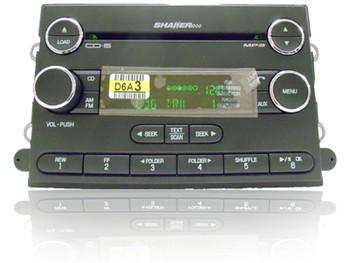 07 08 09 Ford MUSTANG Radio AUX MP3 6 Disc CD Changer Sirius Satellite SHAKER 1000
