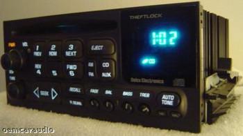1995 - 2002 GMC Radio and CD Changer