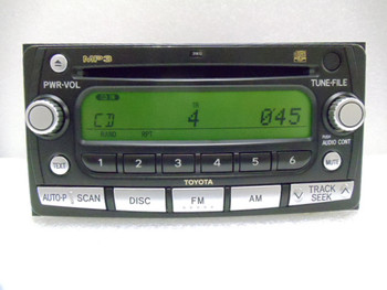 2000 - 2010 Toyota Yaris Rav4 Scion xA xB tC xD Radio MP3 CD Player OEM