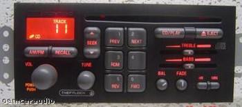 1996 - 2002 GM Pontiac OEM AM FM Radio CD Player Receiver U1C