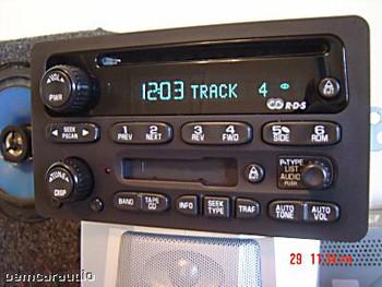 GMC Radio Receiver AM FM Tape Cassette Deck CD Player