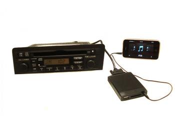 HONDA ACURA Auxiliary Adapter IPOD MP3 WMA USB SD/SDHC/MMC 1998 1999 2000 2001 2002 2003 2004 2005