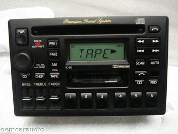Volvo SC-816 Radio Tape CD Player 850 960 V70 S70 V40 S40 S90 V90 1993 1994 95 1996 1997 98 99 2000 3533924-1 BLACK