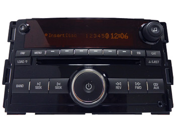 Saturn Sky OEM AUX Input 6 Disc Changer MP3 Radio AM FM
