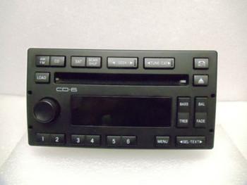 03 04 05 FORD Crown Victoria MERCURY Grand Marquis 6 CD Changer Player Radio OEM