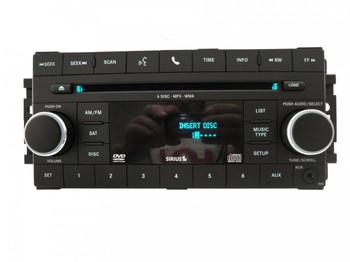CHRYSLER JEEP DODGE MyGig RBZ Radio Sirius SAT AUX CD Player P05064959AF OEM MP3