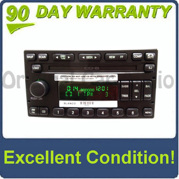 New 1998 - 2005 Mercury Lincoln Ford OEM AM FM Radio 6 CD Changer Stereo Receiver