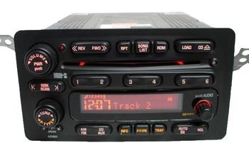 2003 2004 TOYOTA Matrix RDS Radio Stereo 6 Disc Changer CD Player 86120-02350 OEM