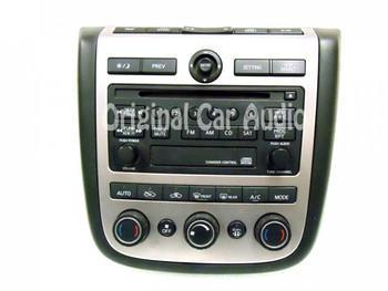 Merged with Ni182 NISSAN Murano Radio CD Player AC Heat Temp Climate Controls 2003 2004 2005