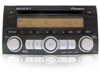 08 2008 2009 Scion xB xD tC Pioneer Radio MP3/AAC/WMA Satellite CD Player