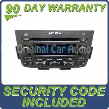 ACURA MDX Navigation GPS System Radio Stereo 6 Disc Changer CD Player XM 3TF6 2005 2006 39100-S3V-A250 ,聽39100-S3V-A350, 39100S3VA250 ,聽39100S3VA350