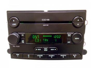 FORD F-250 F-350 F250 F350 Radio 6 Disc Changer CD Player 2008 2009 2010