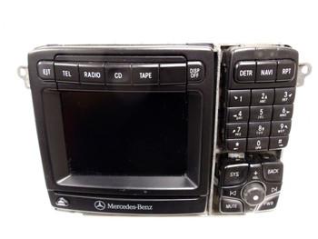 MERCEDES-BENZ S CL Class Command Navigation Radio CD Player Bosch 2000 2001 2002 2003