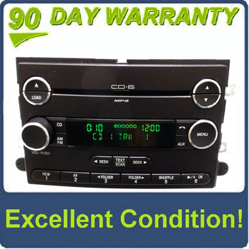 2008 - 2010 FORD F-150 F150 LINCOLN MARK LT OEM AM FM Radio Stereo 6 Disc Changer MP3 CD Player