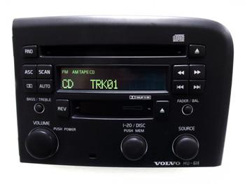 VOLVO HU-611 S80 S-80 Radio Stereo Tape CD Player OEM Dark Gray 2003 2004 2005