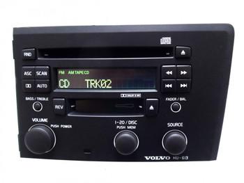 VOLVO S60 V70 S-60 V-70 Radio Stereo Tape CD Player Hu-613 Dark 2003 2004 2005