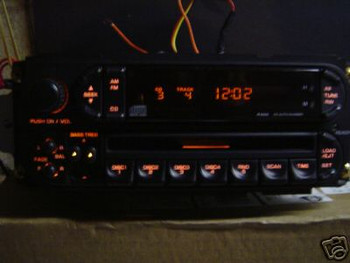 1994 - 2003 Chrysler Dodge Jeep OEM AM FM Radio Tape Cassette CD Player Receiver