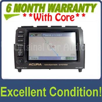 Acura MDX navigation system GPS display screen monitor OEM