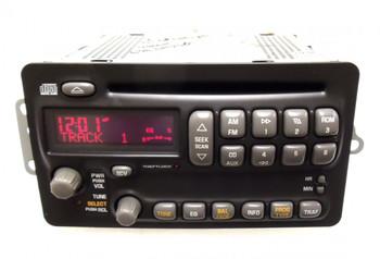 Pontiac Radio Receiver AM FM Stereo CD Player OEM
