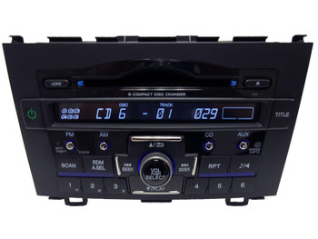 HONDA CRV CR-V Radio Stereo 6 Disc Changer CD Player 1XN4 MP3 2007 2008 2009 2010 2011