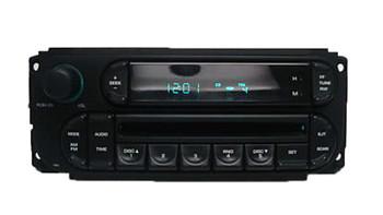 2002 - 2005 Chrysler Dodge Jeep OEM AM FM Radio CD Player Receiver RBK