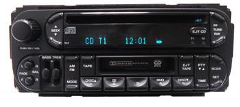 2002 - 2007 Chrysler Jeep Dodge Radio Stereo Cassette Tape CD Player RAZ
